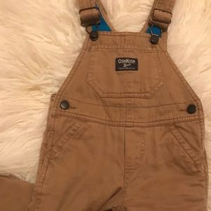 Excellent Condition! OshKosh Overalls. 12 months